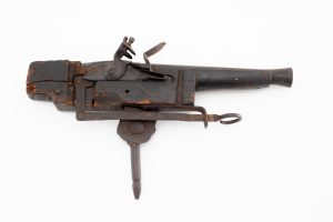 Trap Gun early 1800'S Welms marked old for poachers grave robbers thieves