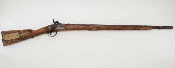 1841 Mississippi rifle Harpers Ferry lock dated ''1847'' Jim Dresslar Collection