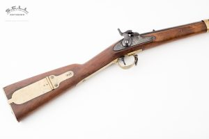1841 U.S. Mississippi Rifle percussion Harpers Ferry Armory Eagle brass mounted trumpet style ramrod