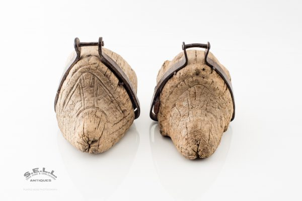 Spanish Colonial wooden stirrups