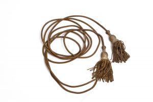 Battle flag gold bullion knots tassels flag staff cords antique authentic Civil War Union